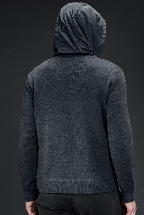 Men's WindBridge Hoody Black Label | Canada Goose