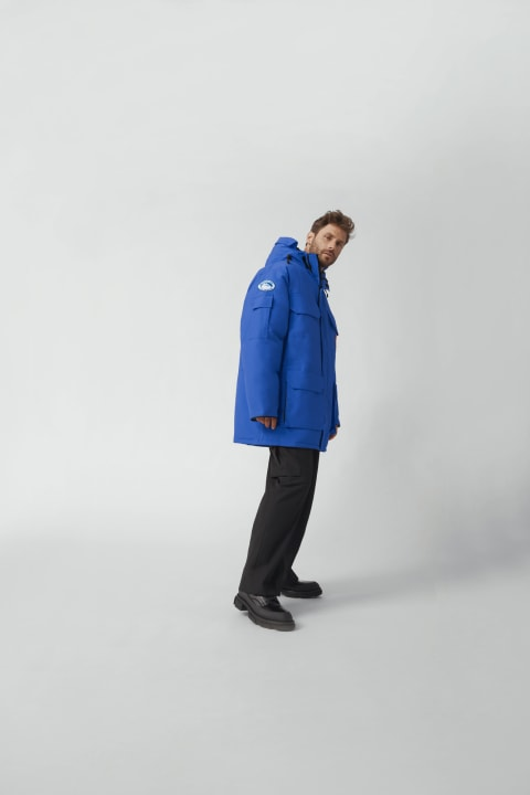 Polar Bears International PBI Expedition 男士派克大衣 | Canada Goose