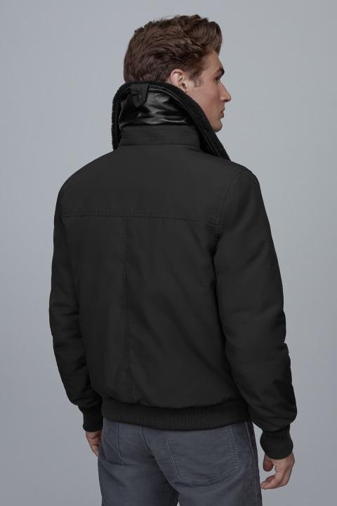 Blouson Aviateur Bromley Black Label pour hommes | Canada Goose