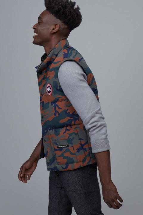 Men's Freestyle Crew Vest Print | Canada Goose
