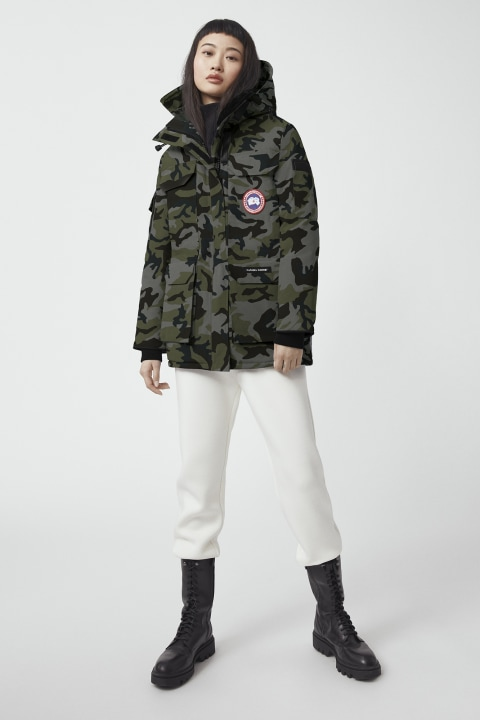 Expedition Parka Fusion Fit Print für Damen | Canada Goose