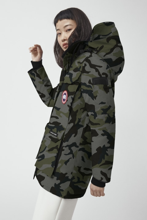 Fusion Fit 版 Expedition 印花派克大衣 | Canada Goose