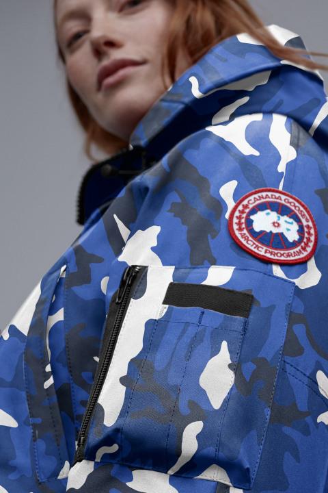 女士 PBI Chilliwack 印花飞行员夹克 | Canada Goose