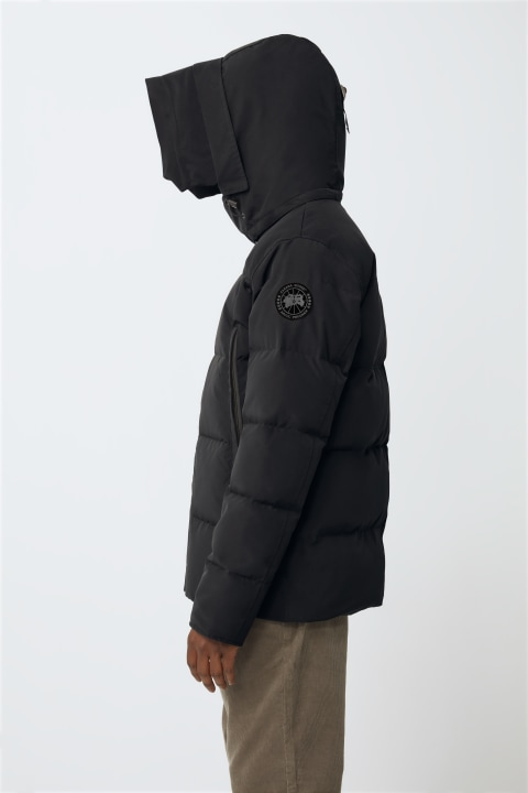 Wyndham Parka Black Label Hood Trim | Canada Goose