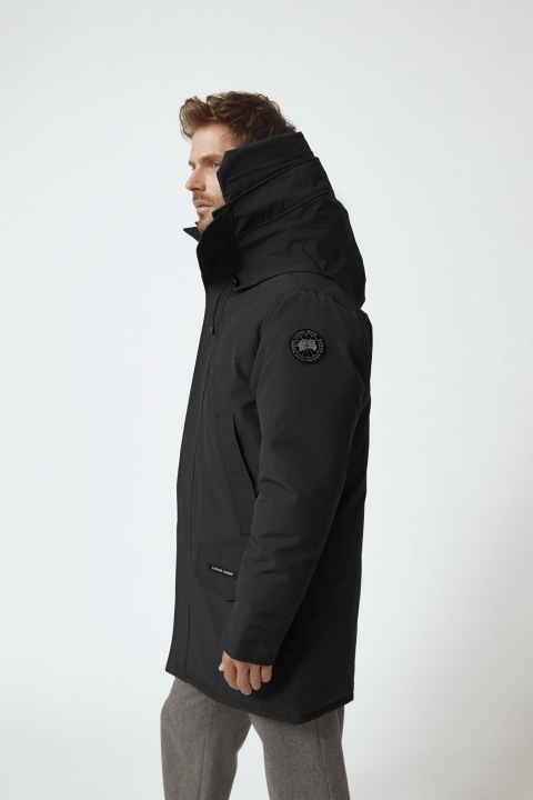 Langford Parka Black Label Hood Trim | Canada Goose