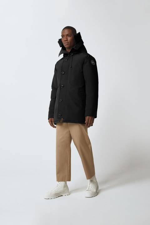 Chateau Parka Black Label Hood Trim | Canada Goose