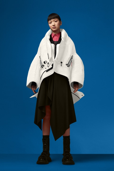 Women's Cropped Snow Mantra For Angel Chen | Canada Goose