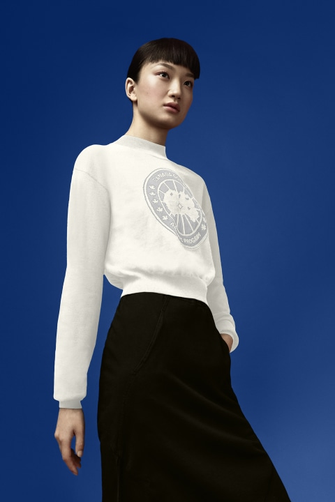 Women's Logo Sweater For Angel Chen | Canada Goose