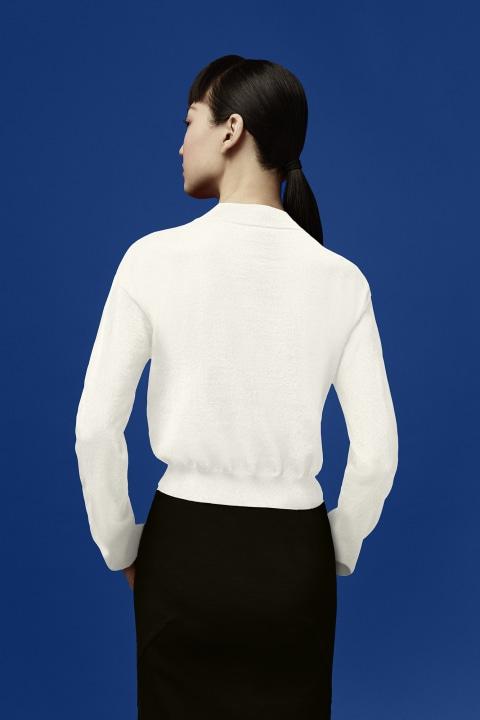 Damenpullover mit Logo für Angel Chen | Canada Goose