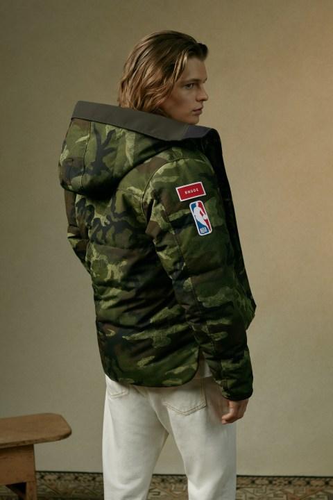 RHUDE 设计的 Macmillan 派克大衣 | Canada Goose