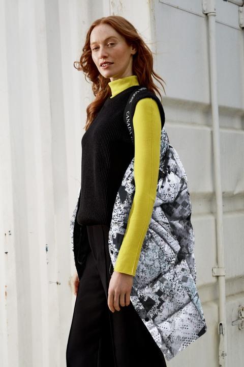 女士 Metron 羽绒服 - 印刷 | THE ICONS | Canada Goose