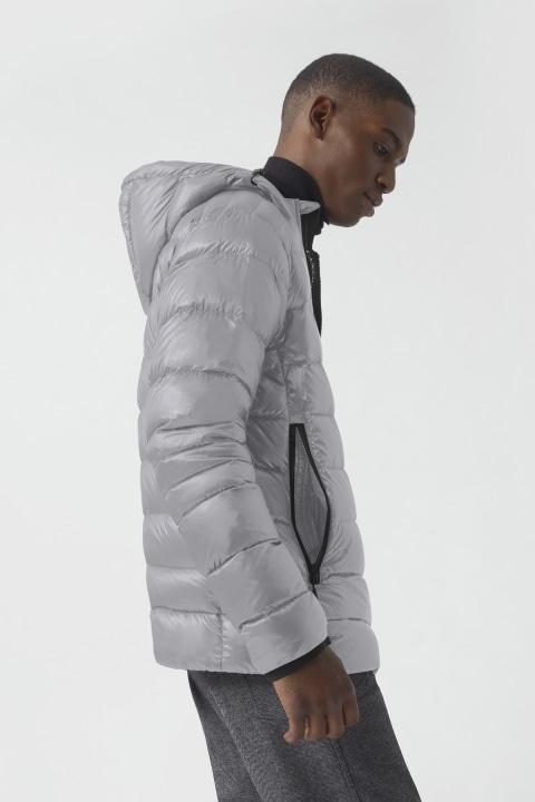 Giacca con cappuccio in piumino Crofton Black Label da uomo | Canada Goose