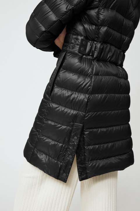 Manteau à capuchon en duvet Cypress Black Label pour femmes | Canada Goose