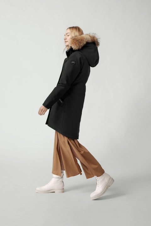 Rossclair 黑标派克大衣 | Canada Goose