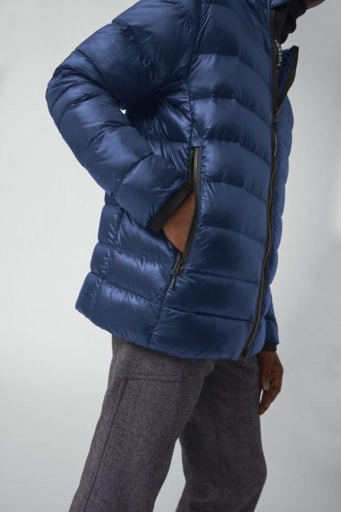 Giacca con cappuccio in piumino Crofton da uomo | Canada Goose