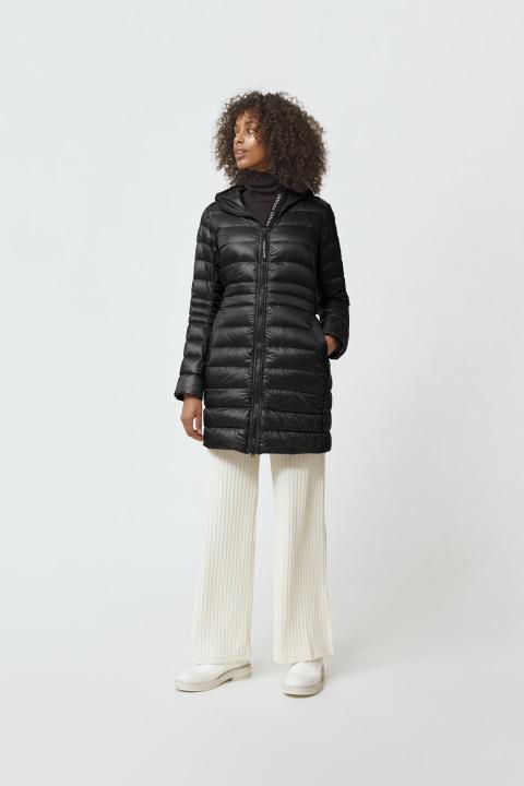 Women's Cypress Hooded Down Jacket Black Label | Canada Goose