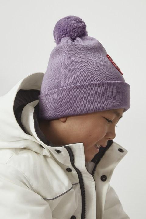 美利奴羊毛绒球托克帽 | Canada Goose