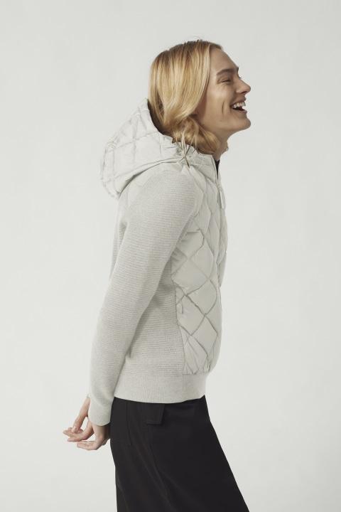 Blouson à capuche en tricot matelassé Hybridge pour femmes | Canada Goose