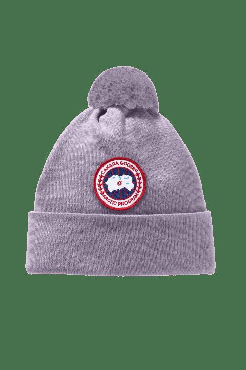 Tuque à pompon en laine mérinos   Canada Goose