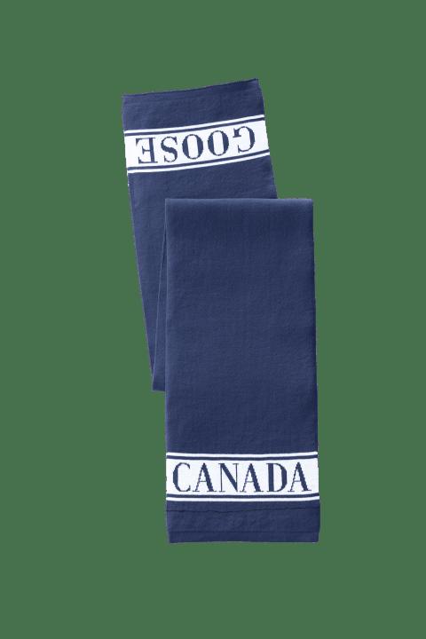 Écharpe logo en laine mérinos | Canada Goose